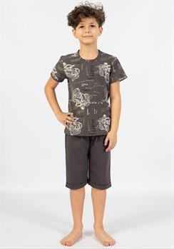 Комплект подростковый футболка капри - фото 10659