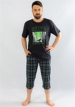Комплект мужской футболка и капри - фото 10955