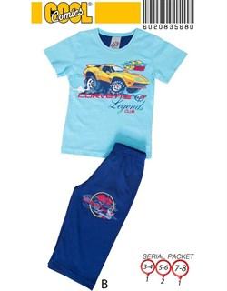 Комплект детский футболка капри - фото 4482
