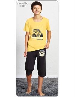 Комплект детский футболка капри - фото 4484