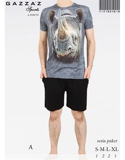 Комплект футболка шорты - фото 4588