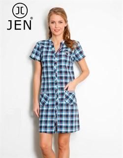 Платье-рубашка - фото 4619