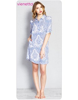 Платье-рубашка PLUS - фото 4646