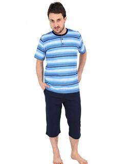 Комплект футболка капри - фото 4647