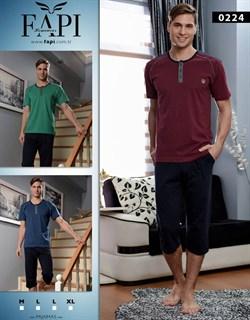 Комплект футболка капри - фото 4693