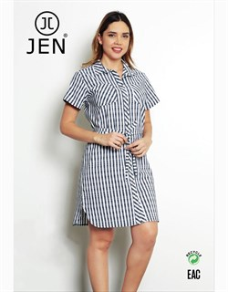 Платье-рубашка - фото 4718