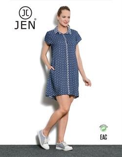 Платье-рубашка - фото 4744