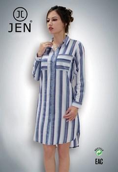 Платье-рубашка - фото 4774