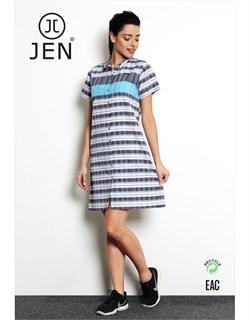 Платье-рубашка - фото 4824