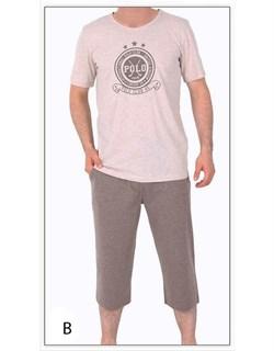 Комплект футболка капри - фото 4825