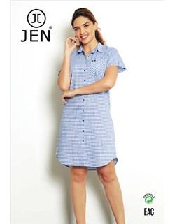 Платье-рубашка - фото 4852
