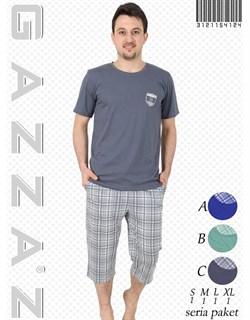 Комплект футболка капри - фото 4853