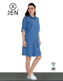 Платье-рубашка  - фото 4878