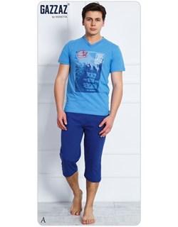 Комплект футболка капри - фото 4930