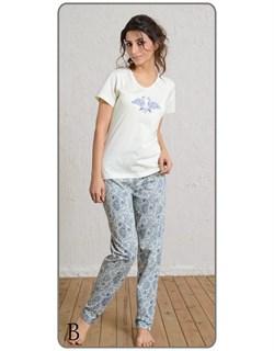Комплект футболка брюки - фото 4938
