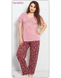 Комплект футболка брюки - фото 5009