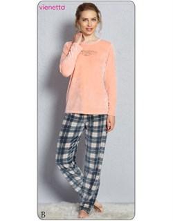 Пижама велюр - фото 5022