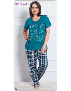 Комплект футболка брюки - фото 5033