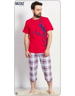 Комплект футболка капри - фото 5047