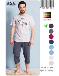 Комплект футболка капри - фото 5130