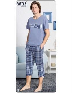 Комплект футболка капри - фото 5201