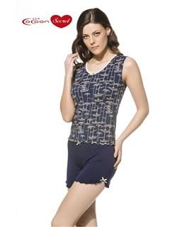 Комплект майка шорты  - фото 5222