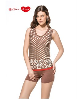 Комплект майка шорты  - фото 5243