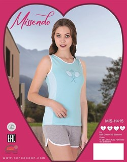 Комплект майка шорты - фото 5282