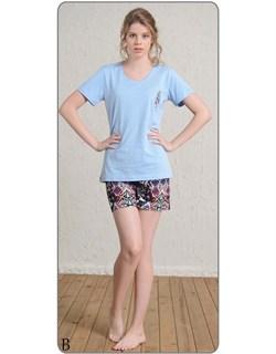 Комплект футболка шорты - фото 5579