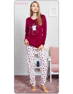 Пижама велюр - фото 5591