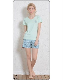 Комплект футболка шорты - фото 5593