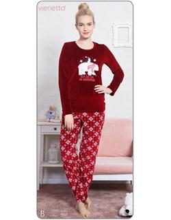 Пижама велюр - фото 5606