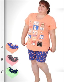 Комплект футболка шорты - фото 5741