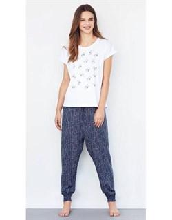 Комплект футболка брюки - фото 5971