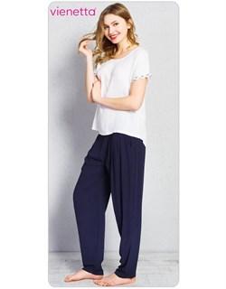 Комплект футболка брюки PLUS - фото 5984