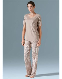 Комплект футболка брюки  - фото 5995