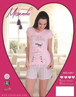 Комплект футболка шорты - фото 6008