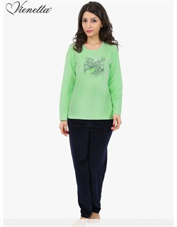 Пижама велюр - фото 6065