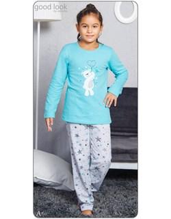 Пижама детская байка - фото 6109