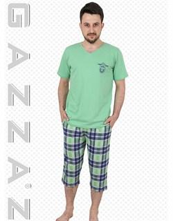 Комплект футболка капри - фото 6352