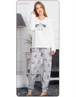Пижама флис - фото 6388