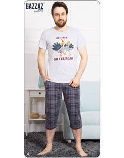 Комплект футболка капри - фото 6619