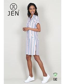 Платье-рубашка - фото 6858