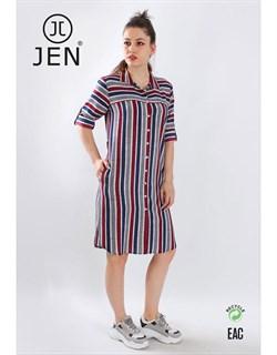 Платье-рубашка - фото 6862
