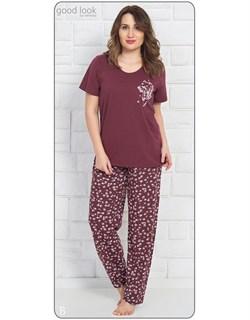 Комплект футболка брюки - фото 6929