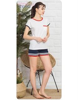 Комплект футболка шорты Marine - фото 6950