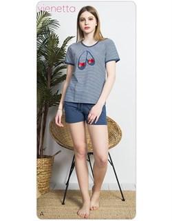 Комплект футболка шорты - фото 7032