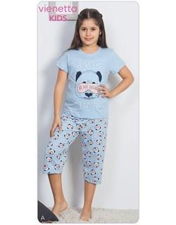 Комплект детский футболка капри - фото 7034