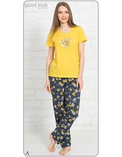 Комплект футболка брюки - фото 7058