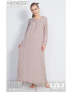 Домашнее платье PLUS - фото 7075